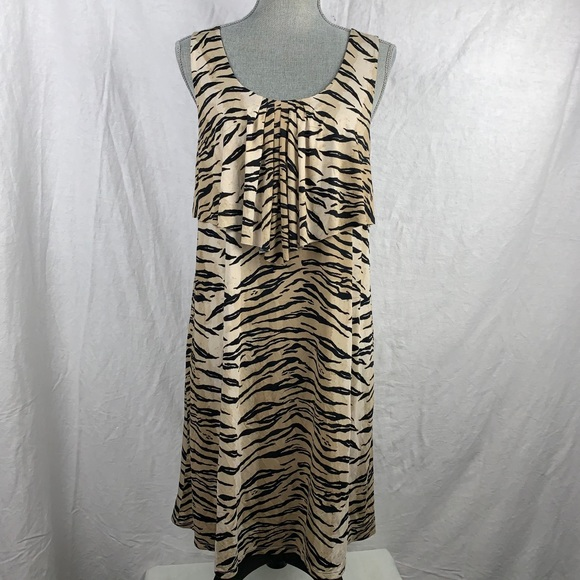 Anne Klein 2 Dresses & Skirts - Anne Klein 2 sleeveless animal print dress